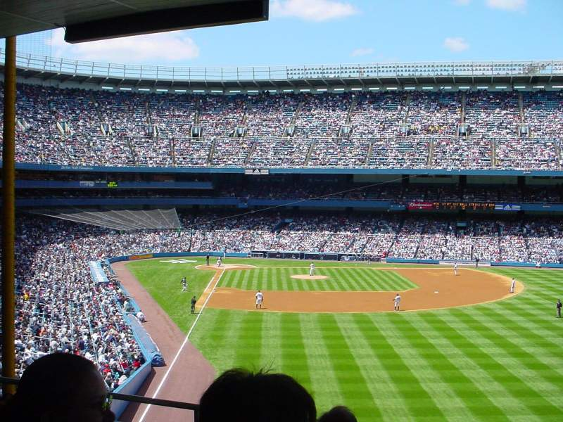 Seating view for Old Yankee Stadium Section 527 Row C Seat 8