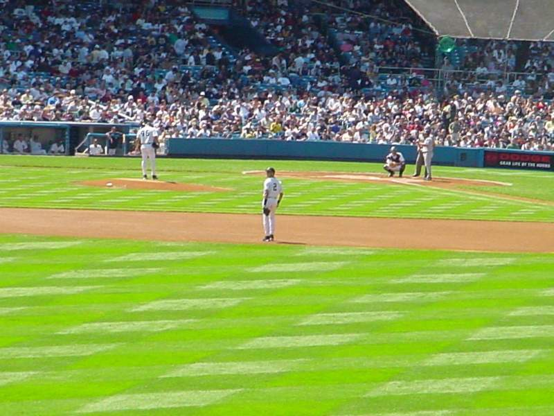 Seating view for Old Yankee Stadium Section 57 Row F Seat 15