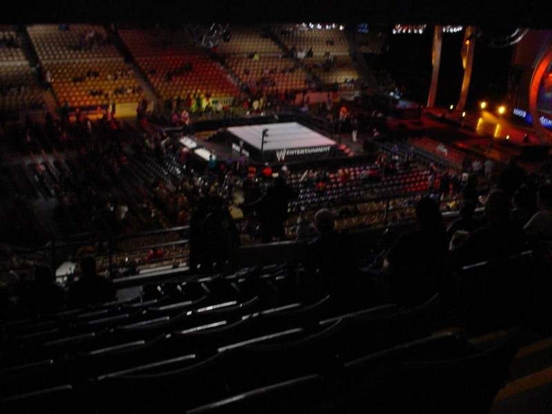 Seating view for DCU Center Section 238 Row 12 Seat 4