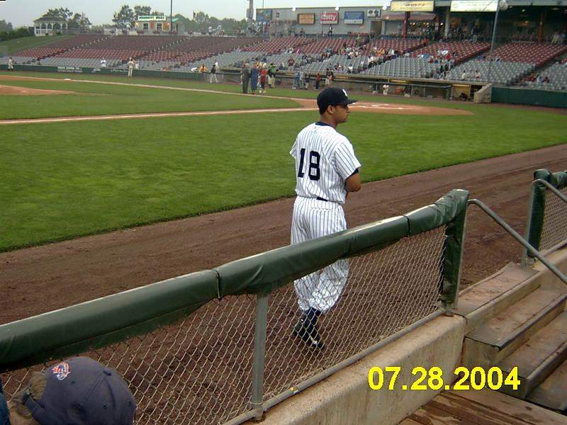 Seating view for Dodd Stadium Section 16 Row 1