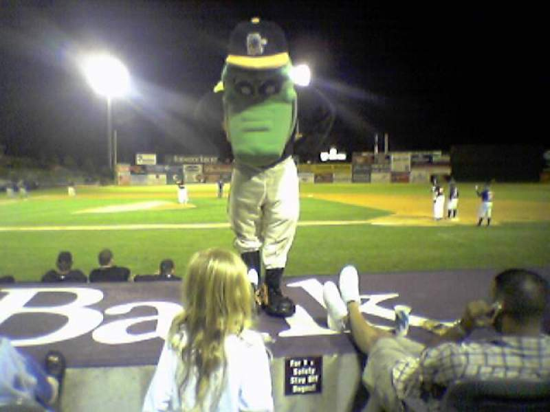 Seating view for Dodd Stadium Section 15 Row 3