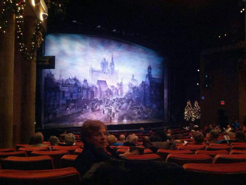 Seating view for Paper Mill Playhouse Section Orcheatra D Row S Seat 27
