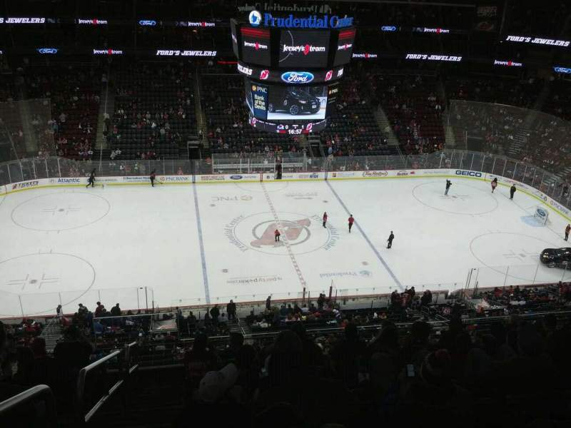 Seating view for Prudential Center Section 111 Row 8 Seat 19