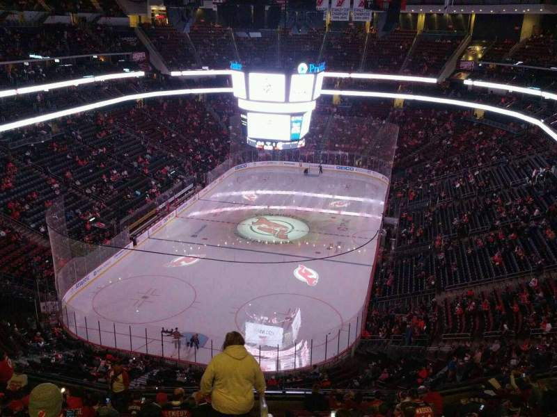 Seating view for Prudential Center Section 122 Row 14 Seat 19