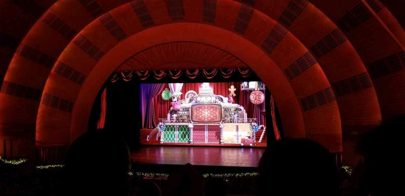Seating view for Radio City Music Hall Section 1st Mezzanine 3 Row D Seat 302