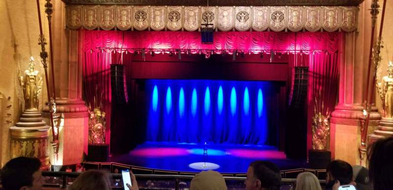 Seating view for Beacon Theatre Section Loge C Row D Seat 108