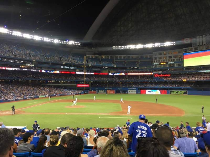 Seating view for Rogers Centre Section 116L Row 28 Seat 110