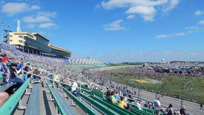 Seating view for Kansas Speedway Section 137 Row 23 Seat 5