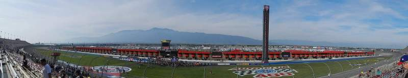 Seating view for Auto Club Speedway Section 11 Row 17 Seat 5