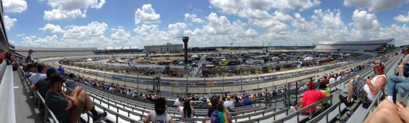 Seating view for Dover International Speedway Section 249 Row 42 Seat 17