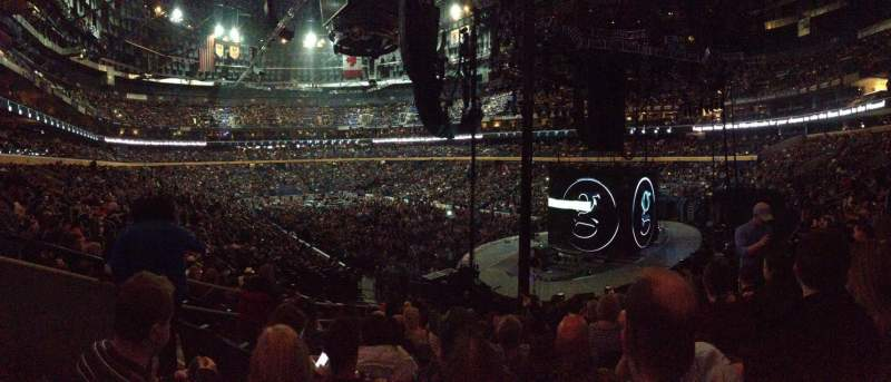 Seating view for KeyBank Center