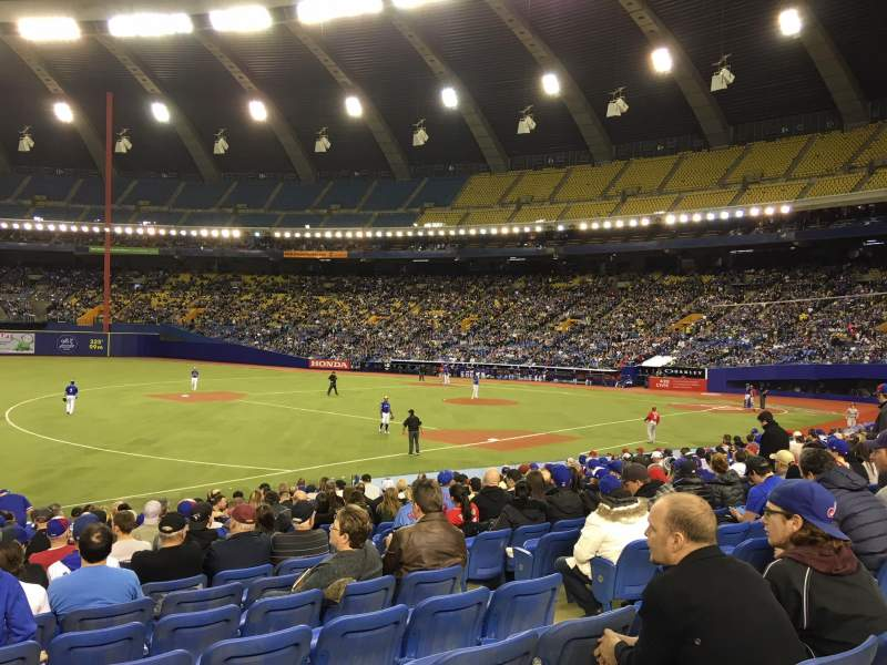 Olympic Stadium, Montreal, section: 120, row: SS, seat: 6
