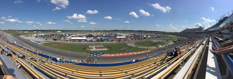 Seating view for Kentucky Speedway Section 4L Row 27 Seat 15