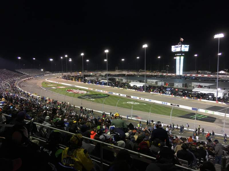 Seating view for Richmond International Raceway Section P Row 4 Seat 5