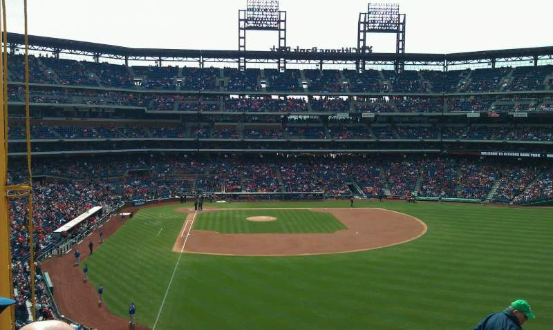 Seating view for Citizens Bank Park Section 205 Row 8 Seat 5