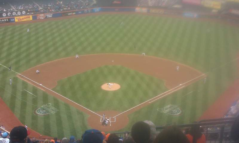 Seating view for Citi Field Section 514 Row 16 Seat 19