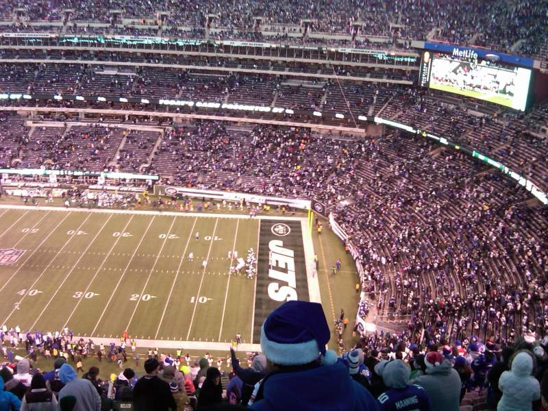 Seating view for MetLife Stadium Section 335 Row 24 Seat 24