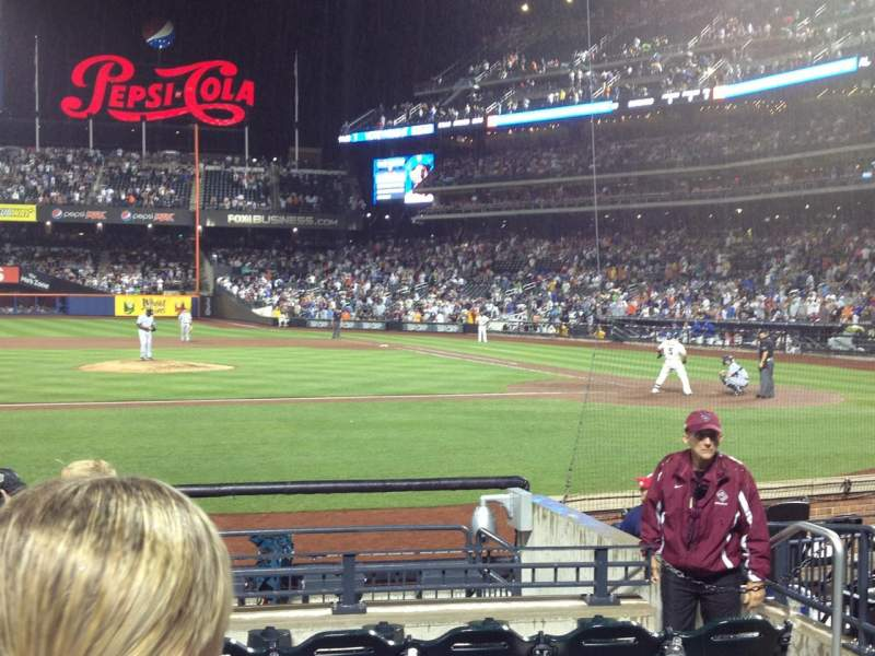 Seating view for Citi Field Section 121 Row 6 Seat 6