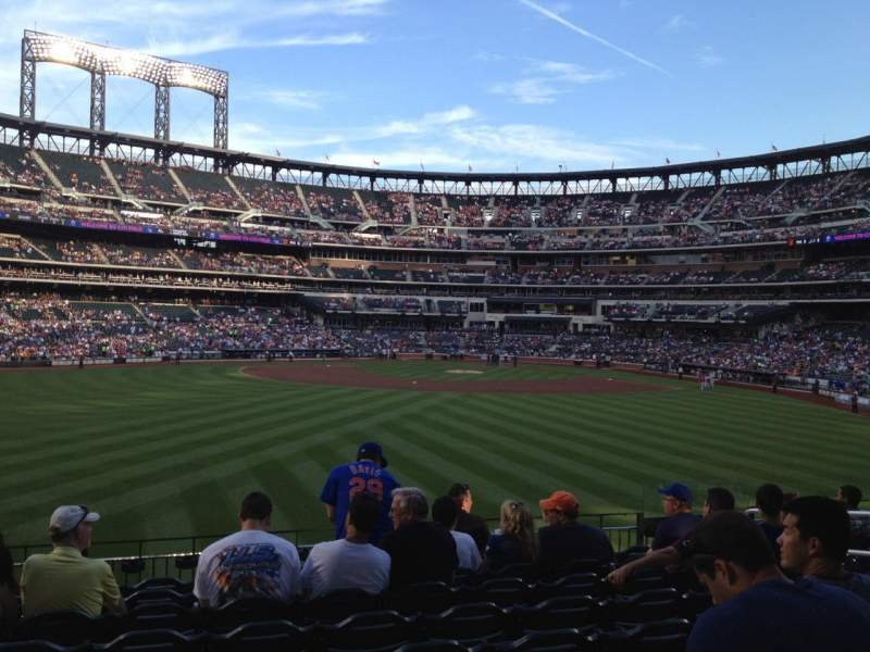 Seating view for Citi Field Section 138 Row 9 Seat 9