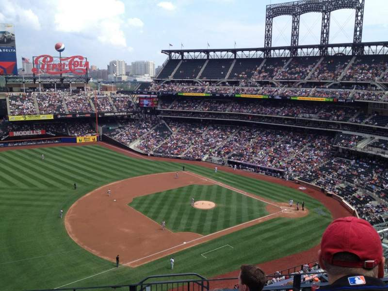 Seating view for Citi Field Section 524 Row 4 Seat 9