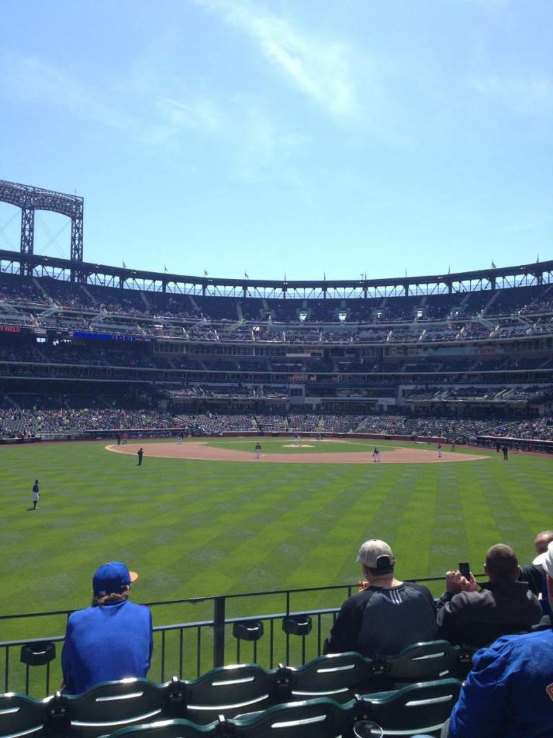 Seating view for Citi Field Section 138 Row 5  Seat 19