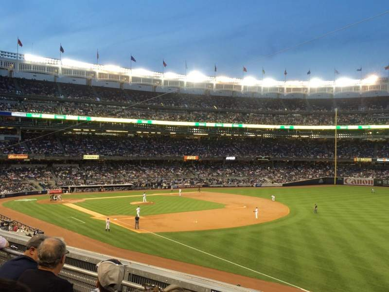 Seating view for Yankee Stadium Section 211 Row 3 Seat 2
