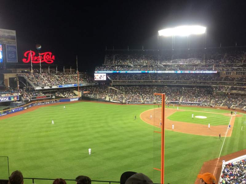 Seating view for Citi Field Section 430 Row 5