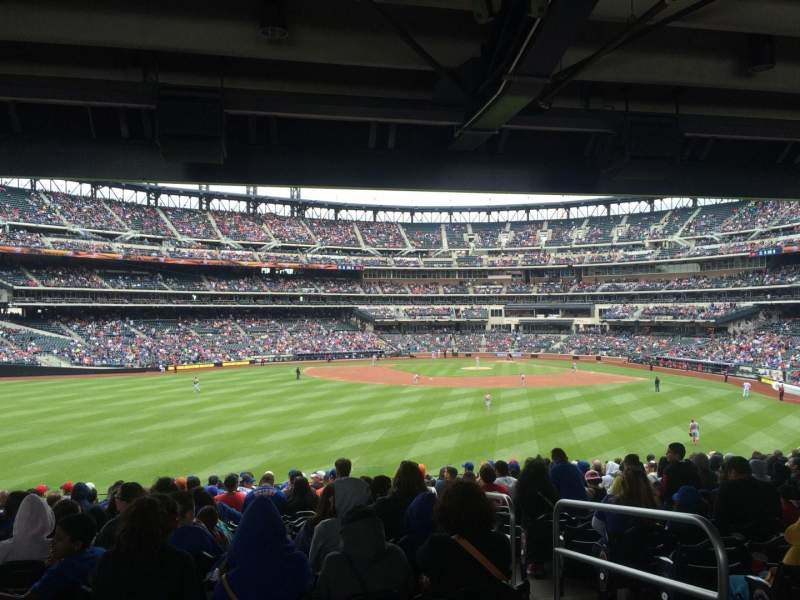 Seating view for Citi Field Section 138 Row 18 Seat 3