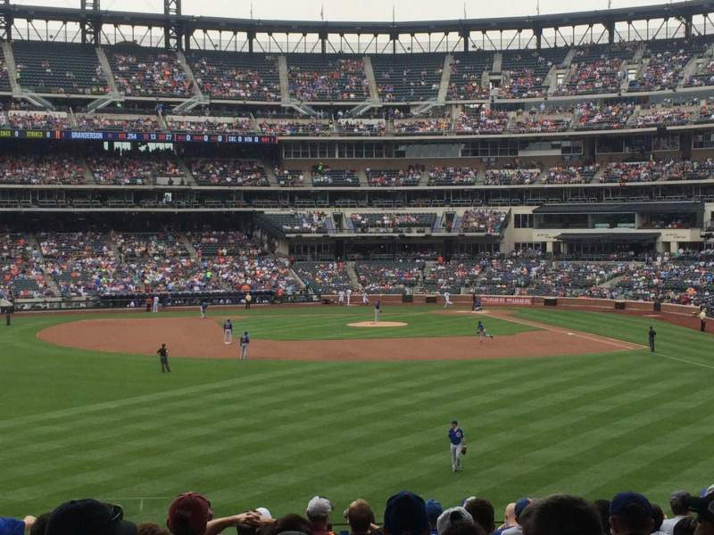 Seating view for Citi Field Section 135 Row 15 Seat 22