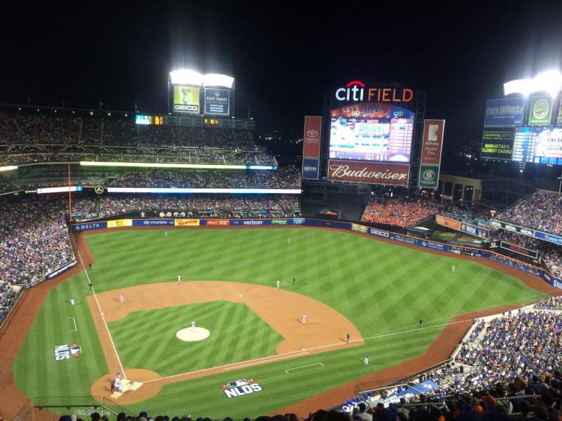 Seating view for Citi Field Section 510 Row 14 Seat 8