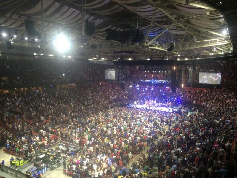 Bon Secours Wellness Arena, section: 232, row: I, seat: 16