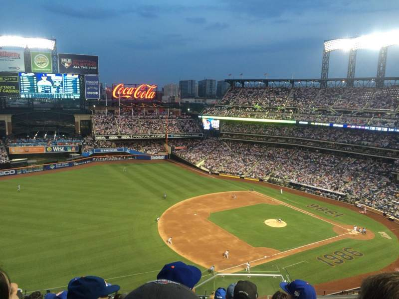 Seating view for Citi Field Section 525 Row 9 Seat 2
