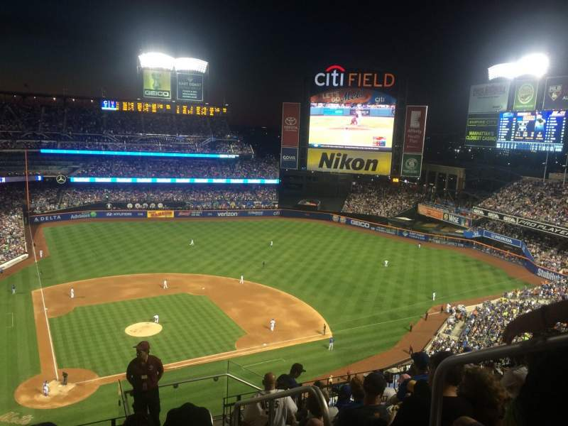 Seating view for Citi Field Section 510 Row 8 Seat 2