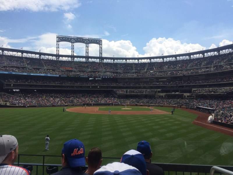 Citi Field, section: 135, row: 3, seat: 1