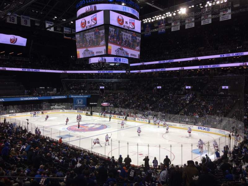 Barclays Center, section: 120, row: 5, seat: 12