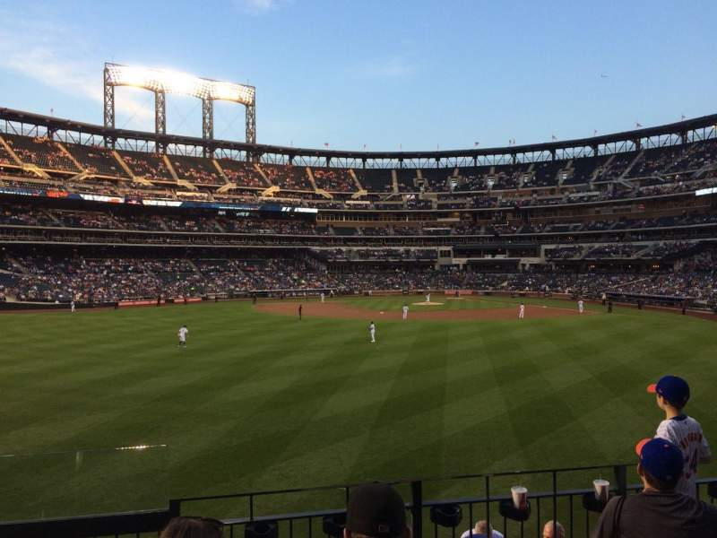 Seating view for Citi Field Section 137 Row 4 Seat 24