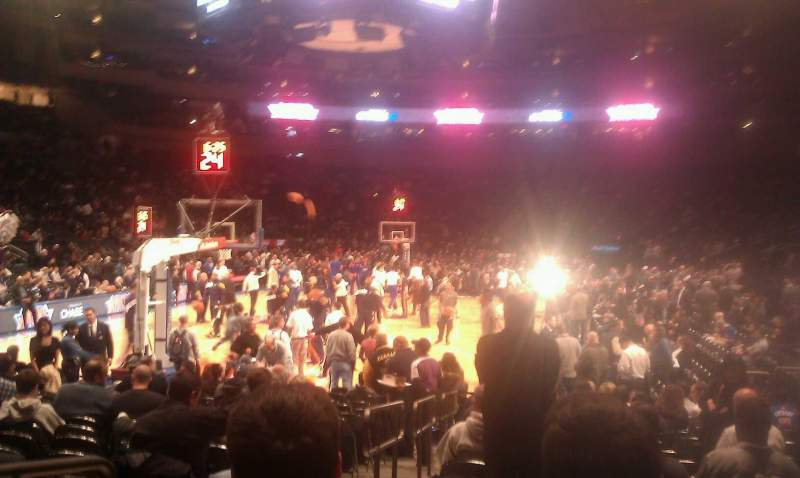 Seating view for Madison Square Garden Section 9 Row 16 Seat 2