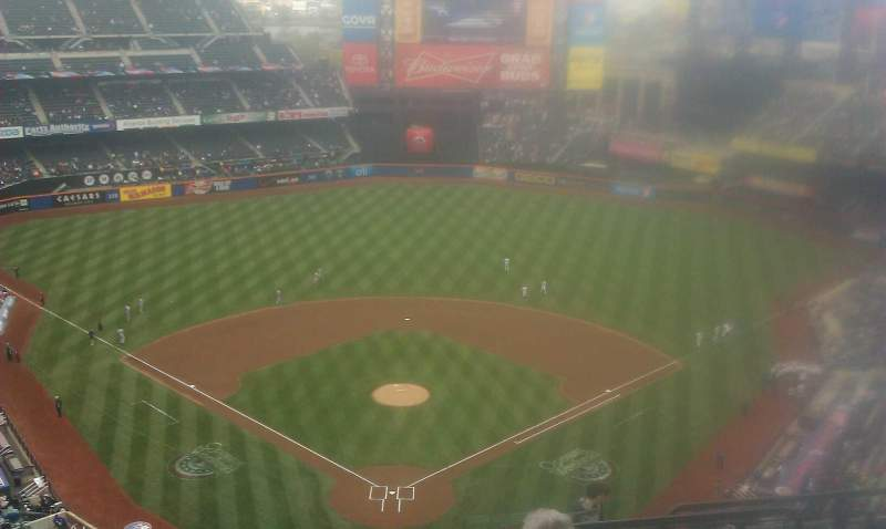 Seating view for Citi Field Section 514 Row 16 Seat 18