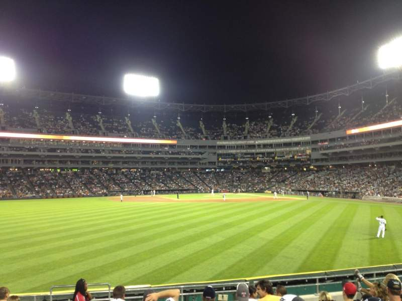 Seating view for Guaranteed Rate Field Section 161 Row 10 Seat 18