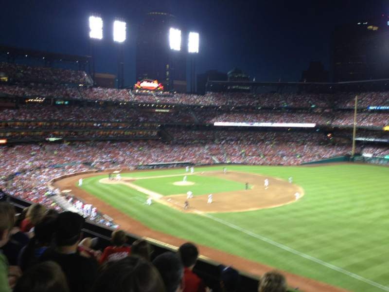 Seating view for Busch Stadium Section 235 Row 4 Seat 15