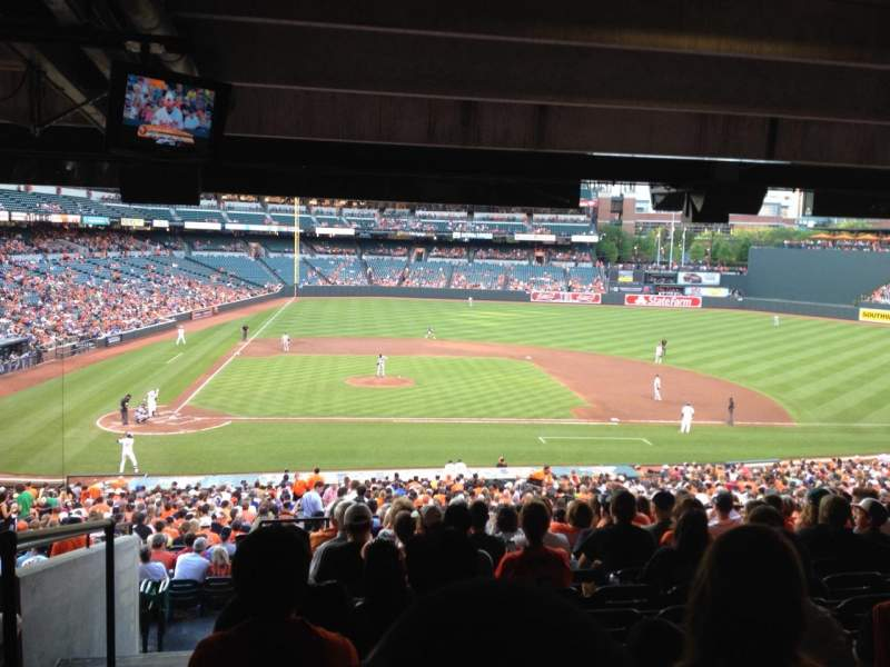 Oriole Park At Camden Yards Section 23 Row 13 Seat 22