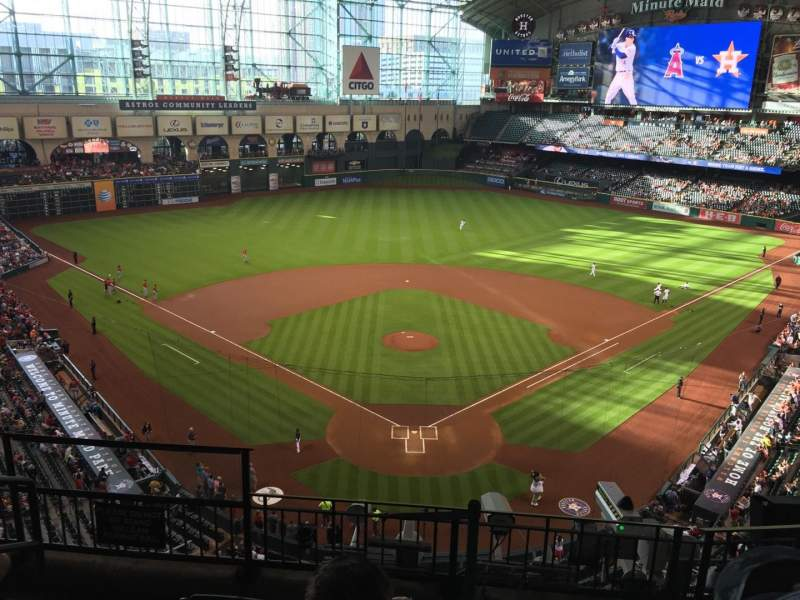 Seating view for Minute Maid Park Section 319 Row 5 Seat 5