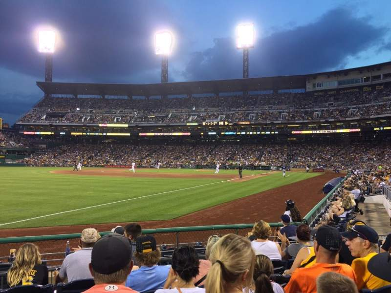 Seating view for PNC Park Section 30 Row J Seat 10