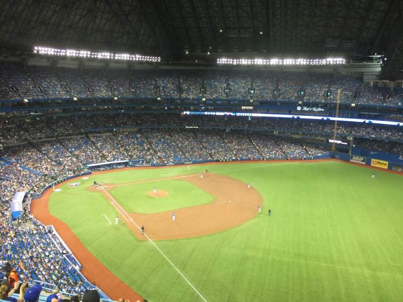 Seating view for Rogers Centre Section 511 Row 14 Seat 102