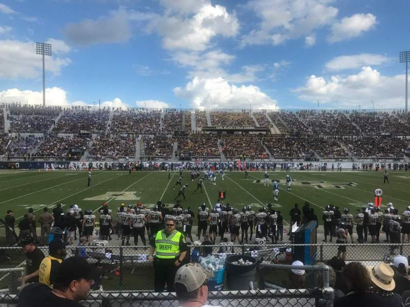 Spectrum Stadium, section 111, row 7, seat 17 - UCF Knights