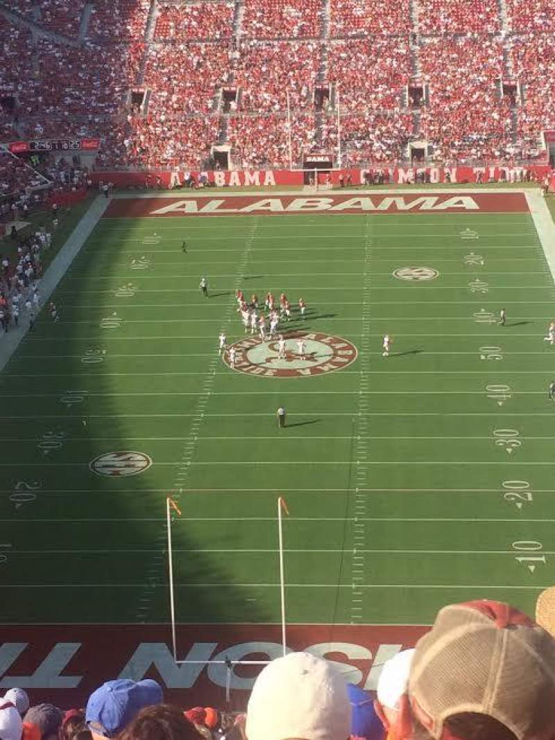 Seating view for Bryant-Denny Stadium Section NN-8 Row 30