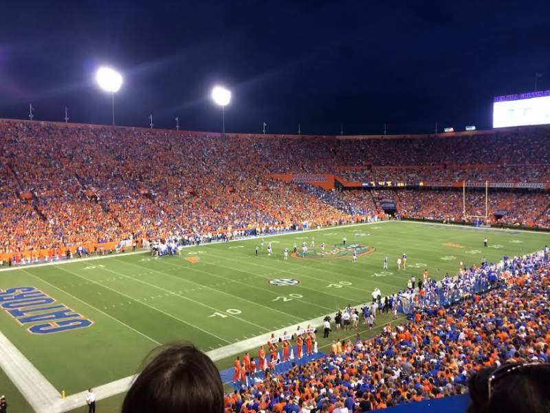 Seating view for Ben Hill Griffin Stadium Section 19 Row 52 Seat 16