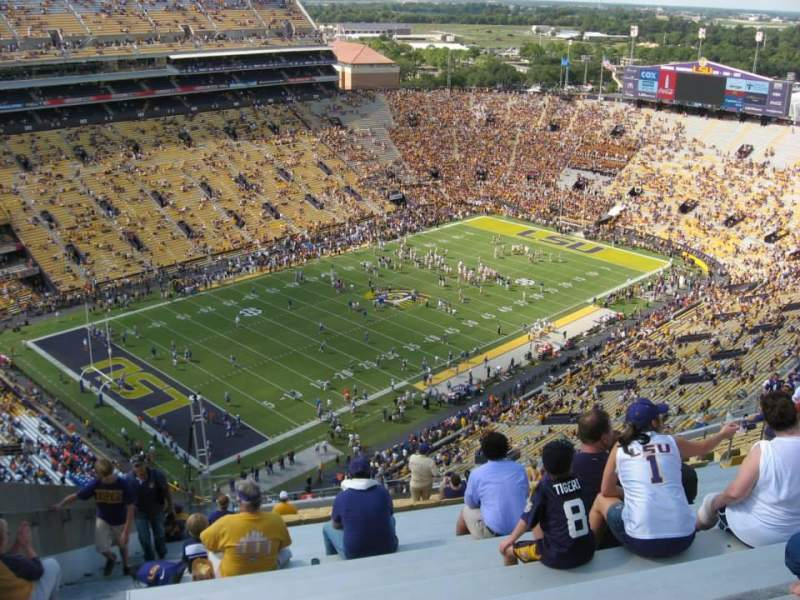 Seating view for Tiger Stadium Section 643 Row AA