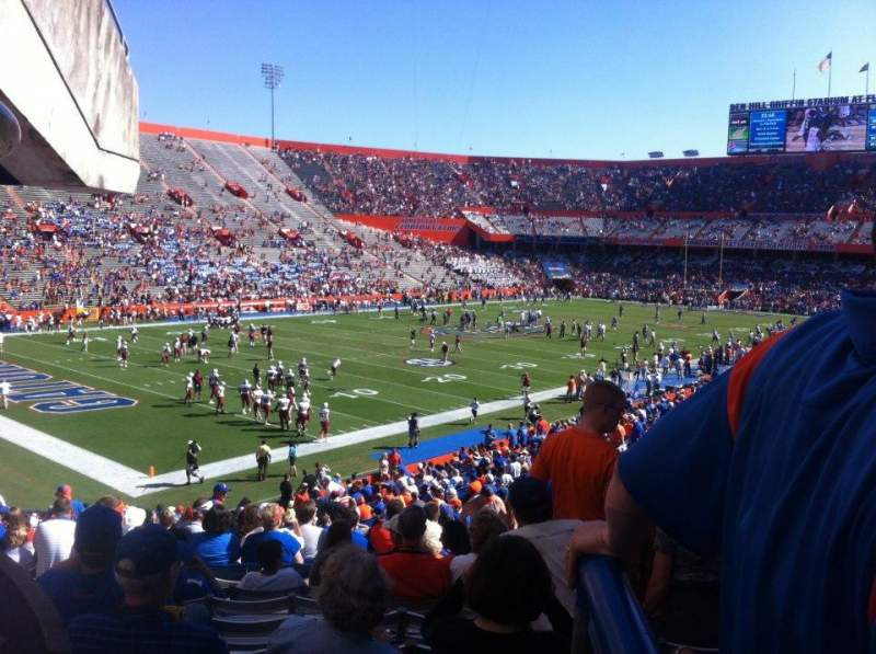 Seating view for Ben Hill Griffin Stadium Section 14 Row 20