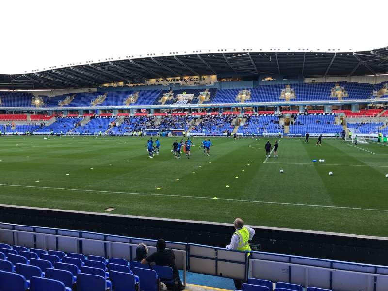 Seating view for Madejski Stadium Section Y20 Row J Seat 79